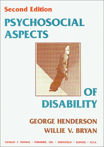 9780398066796: Psychosocial Aspects of Disability