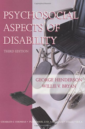 9780398074869: Psychosocial Aspects of Disability