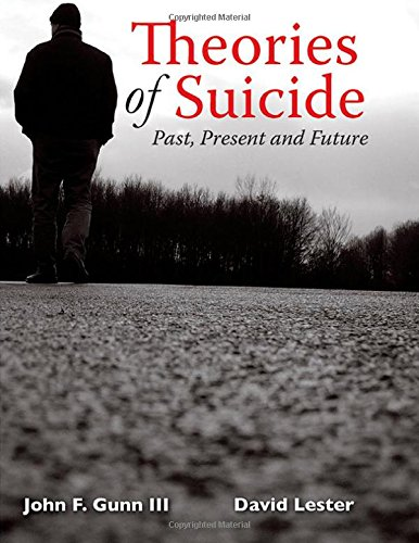 9780398080907: Theories of Suicide: Past, Present and Future