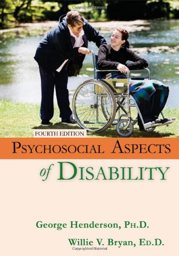 9780398086121: Psychosocial Aspects of Disability