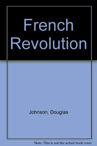 9780399103254: The French Revolution