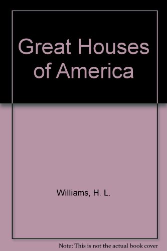 9780399103667: Great Houses of America
