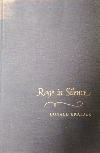 9780399106781: Rage in Silence: A Novel Based on the Life of Goya.