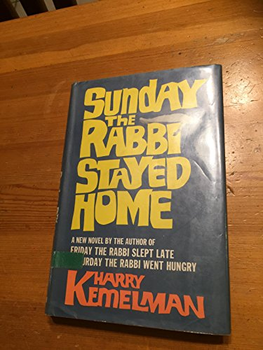 9780399107795: Sunday the Rabbi Stayed Home