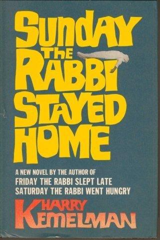 9780399107795: Sunday the Rabbi Stayed Home
