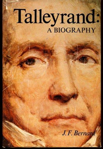 9780399110221: Talleyrand;: A biography,