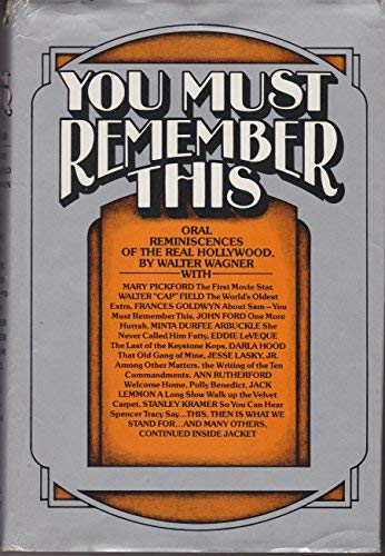 You Must Remember This: Wagner, Walter