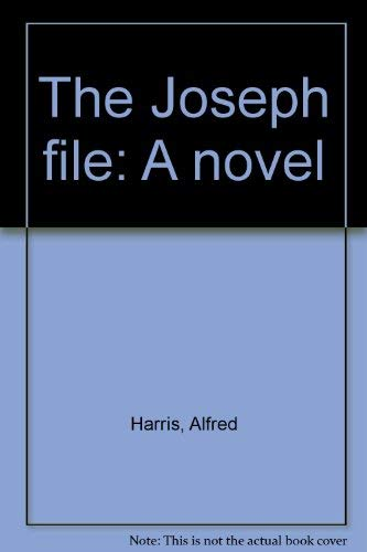 9780399113161: The Joseph file: A novel