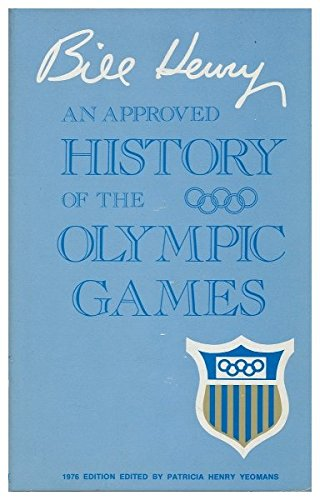 9780399118180: An approved history of the Olympic games
