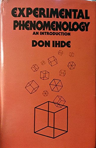 9780399119132: Experimental phenomenology: An introduction