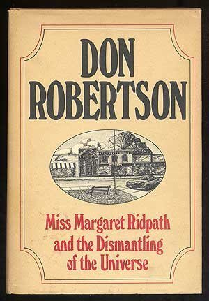 9780399119255: Miss Margaret Ridpath and the Dismantling of the Universe