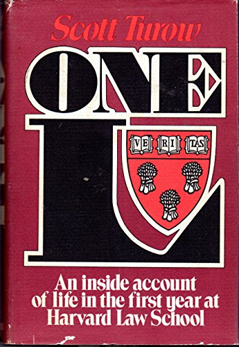 One L: An Inside Account of Life In the First Year at Harvard Law School