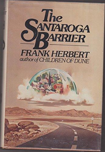 9780399119446: The Santaroga barrier