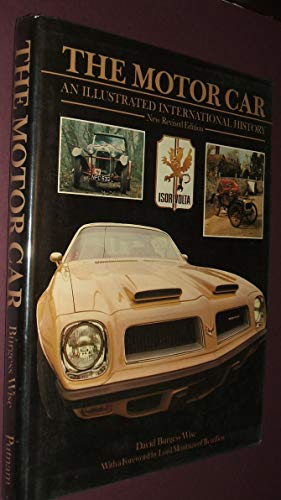 9780399120251: The motor car: An illustrated international history