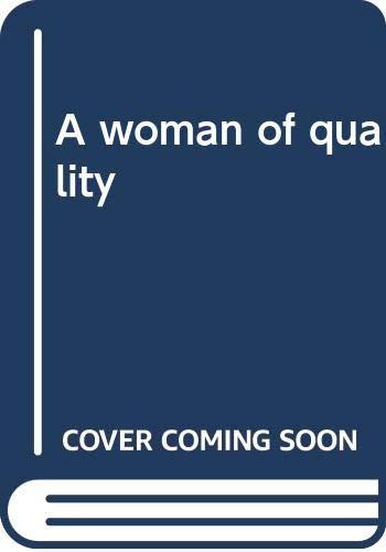 A woman of quality: Westcott, Jan Vlachos