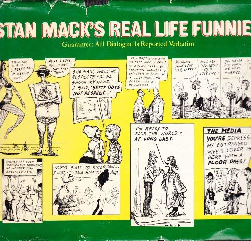 9780399122736: Stan Mack's Real life funnies: Guarantee, all dialogue is reported verbatim