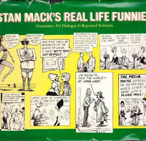 9780399122736: Stan Mack's Real life funnies: Guarantee, all dialogue is reported verbatim