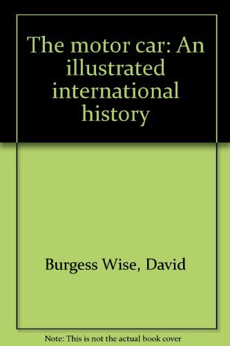 9780399123887: The Motor Car: An Illustrated International History