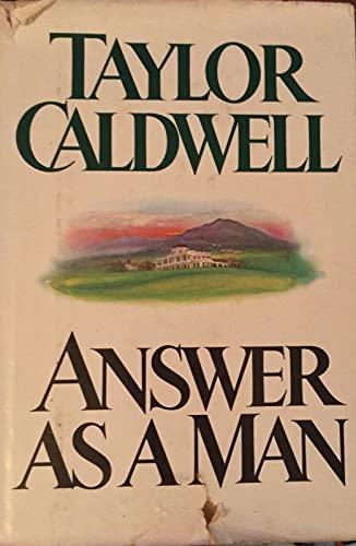 9780399125669: Answer As a Man