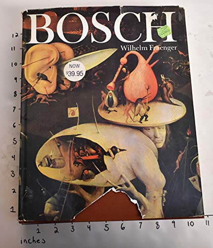 Bosch. Translated by Helen Sebba.: FRAENGER, Wilhelm: