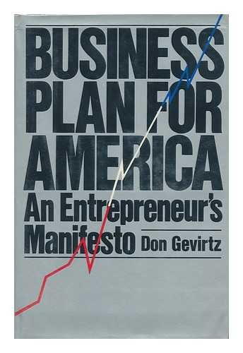 Business Plan Amer: Gevirtz, Don