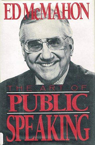 9780399129131: The Art of Public Speaking
