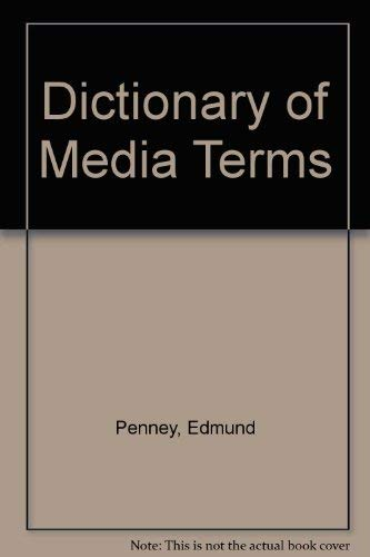 9780399129582: Dictionary of Media Terms