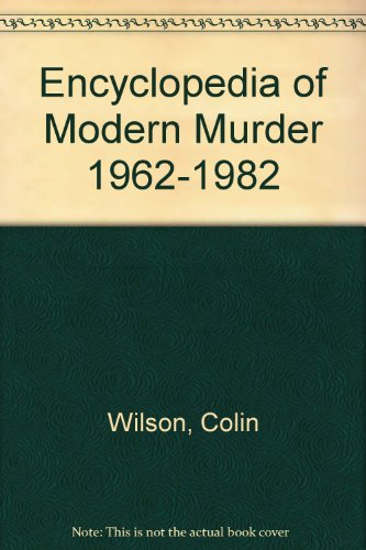 9780399129834: Ency Modern Murder