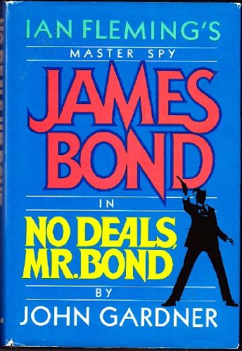 No Deals, Mr. Bond (James Bond) 9780399132544 Two female agents of Operation Cream Cake—double agents and honey traps against the KGB—are murdered. Bond must find the others and conduct them to safety before they meet a similar fate. In a race against time, Bond travels to Ireland and the KGB is soon on the scene. But all is not as it seems and soon Bond finds he needs all his wits to negotiate a labyrinth of double-crossing that is to lead him to a bewildering showdown in a remote corner of the Kowloon province of Hong Kong, where, weaponless, he is hunted by four assassins. No Deals, Mr Bond is the sixth in the bestselling series created by John Gardner, and one of the most original and unpredictable.