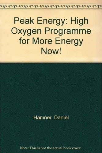Peak Energy: Hamner, D.; Burr, B.