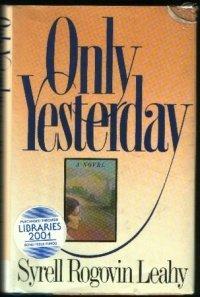 9780399134388: Only Yesterday