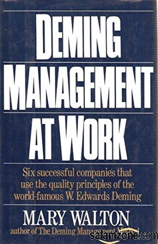 9780399137938: Deming Management at Work