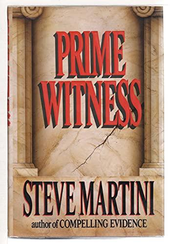 "Prime Witness "" Signed "": Martini, Steve"