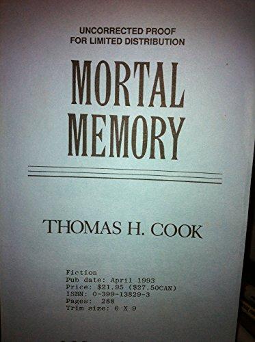 9780399138294: Mortal Memory