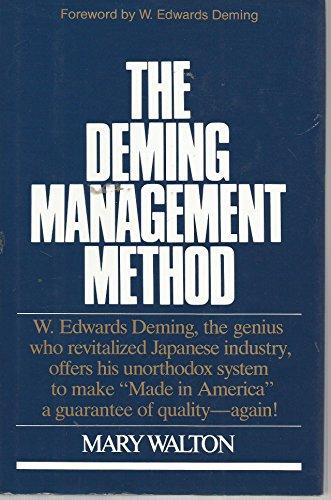 9780399138539: Title: Deming Man Meth Navy