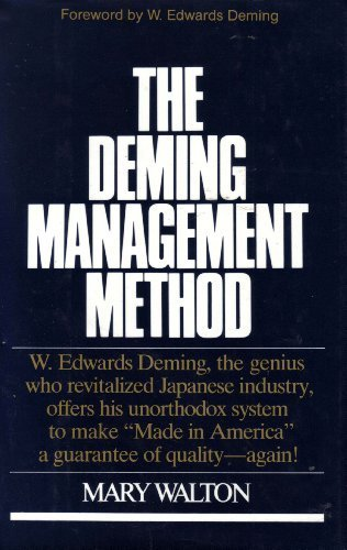 9780399138539: The Deming Management Method