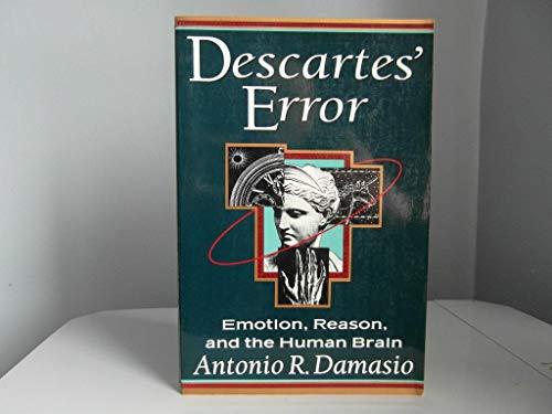 9780399138942: Descartes' Error: Emotion, Reason, and the Human Brain