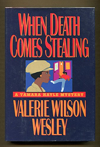 WHEN DEATH COMES STEALING (Signed Copy)