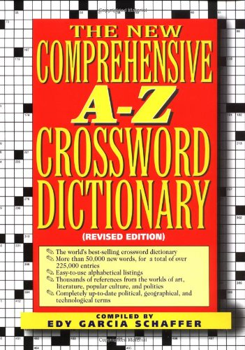 9780399140976: New comprehensive a-z crossword dictionary