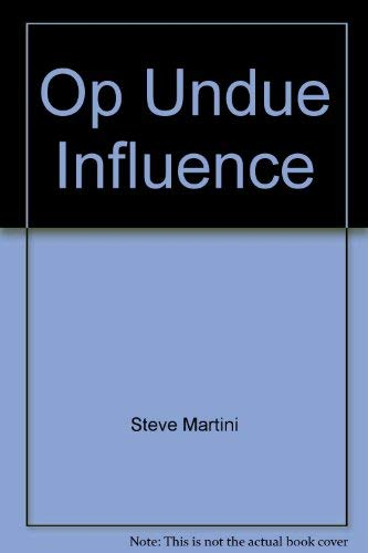 9780399142147: Undue Influence