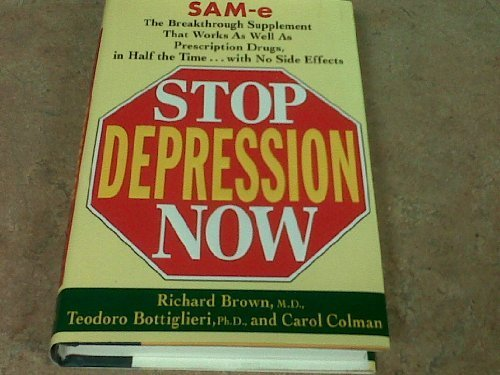 9780399145834: Stop Depression Now