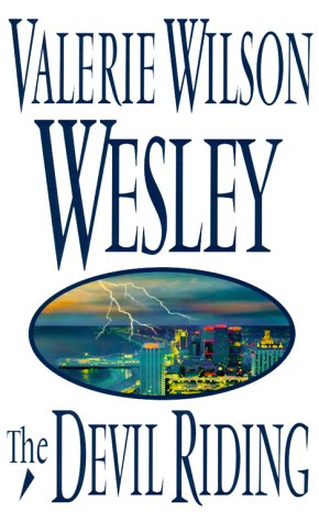 The Devil Riding ***SIGNED***: Valerie Wilson Wesley