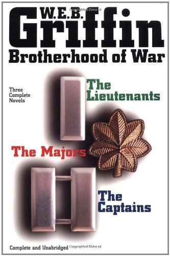 9780399147302: Brotherhood of War: The Lieutenants, the Captains, the Majors - 3 Complete Novels