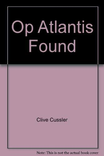 9780399149115: Op Atlantis Found