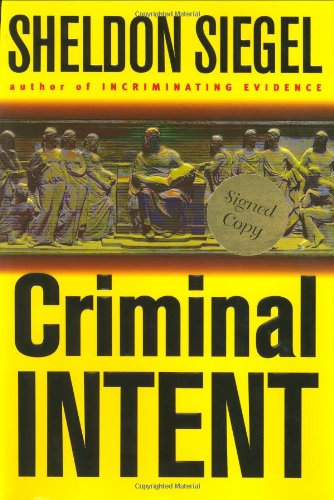 9780399149177: Criminal Intent