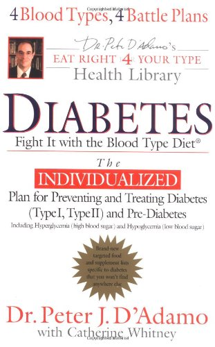 9780399151026: Diabetes: Fight It with the Blood Type Diet (The Eat Right 4 Your Type Library)