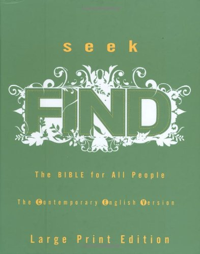 9780399153860: Seek Find: The Bible for All People Contemporary English Version