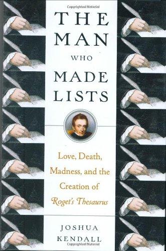 9780399154621: The Man Who Made Lists