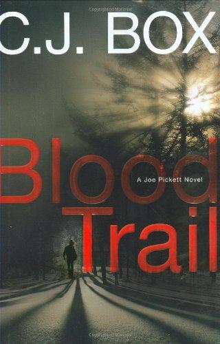"""Blood Trail """" Signed """": Box, C. J."""