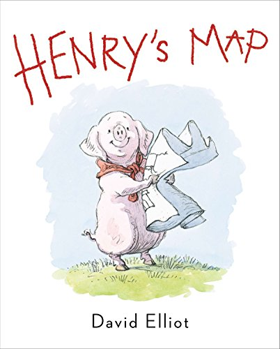 Henry's Map (Hardback or Cased Book): Elliot, David